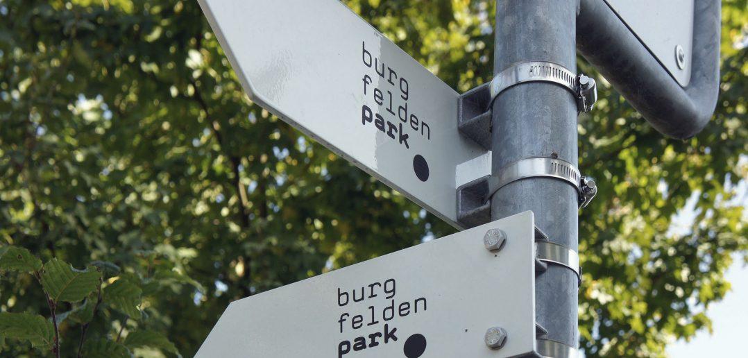 Burgfeldenpark, gemeinsame Identität und Zeichensprache © Architektur Basel