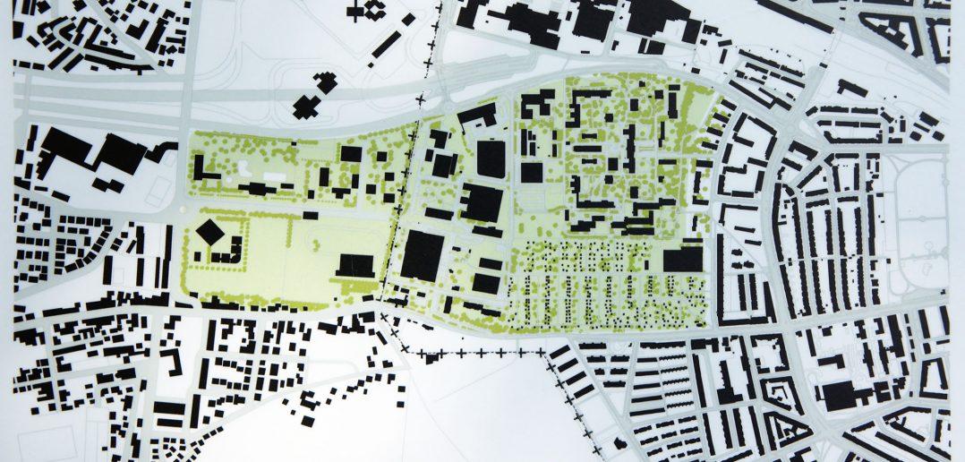 Burgfeldenpark, Übersichtsplan (Quelle: Informationstafel im Park)