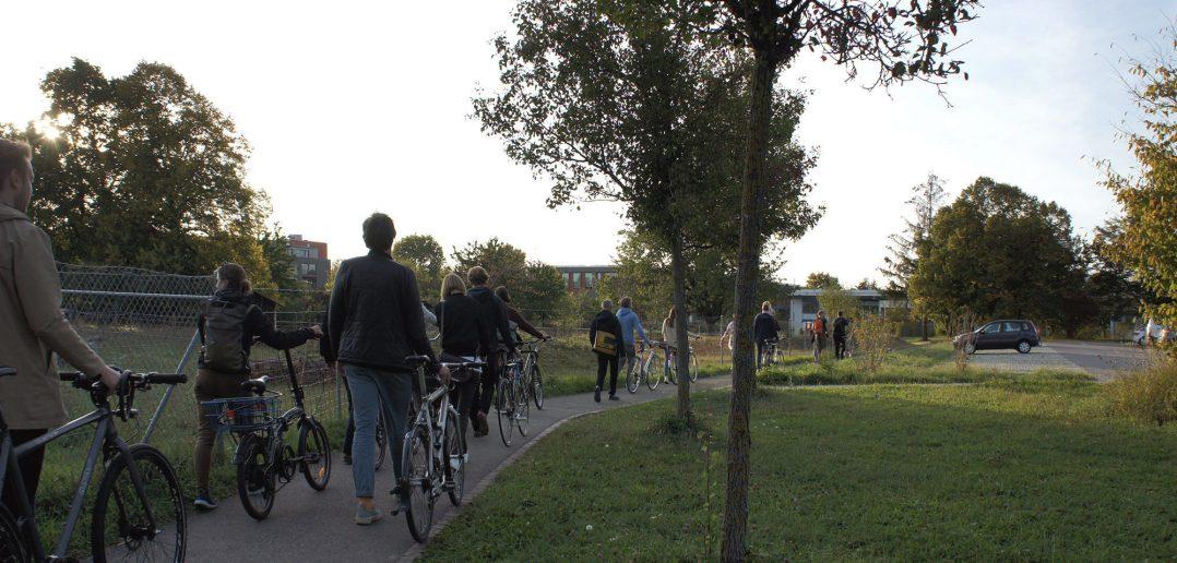 Burgfeldenpark, unterwegs zwischen UPK und Bürgerspital © Architektur Basel