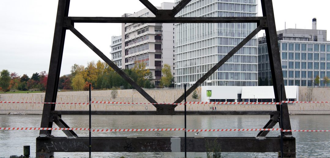 Blick über den Rhein zum Novartis Campus © Architektur Basel