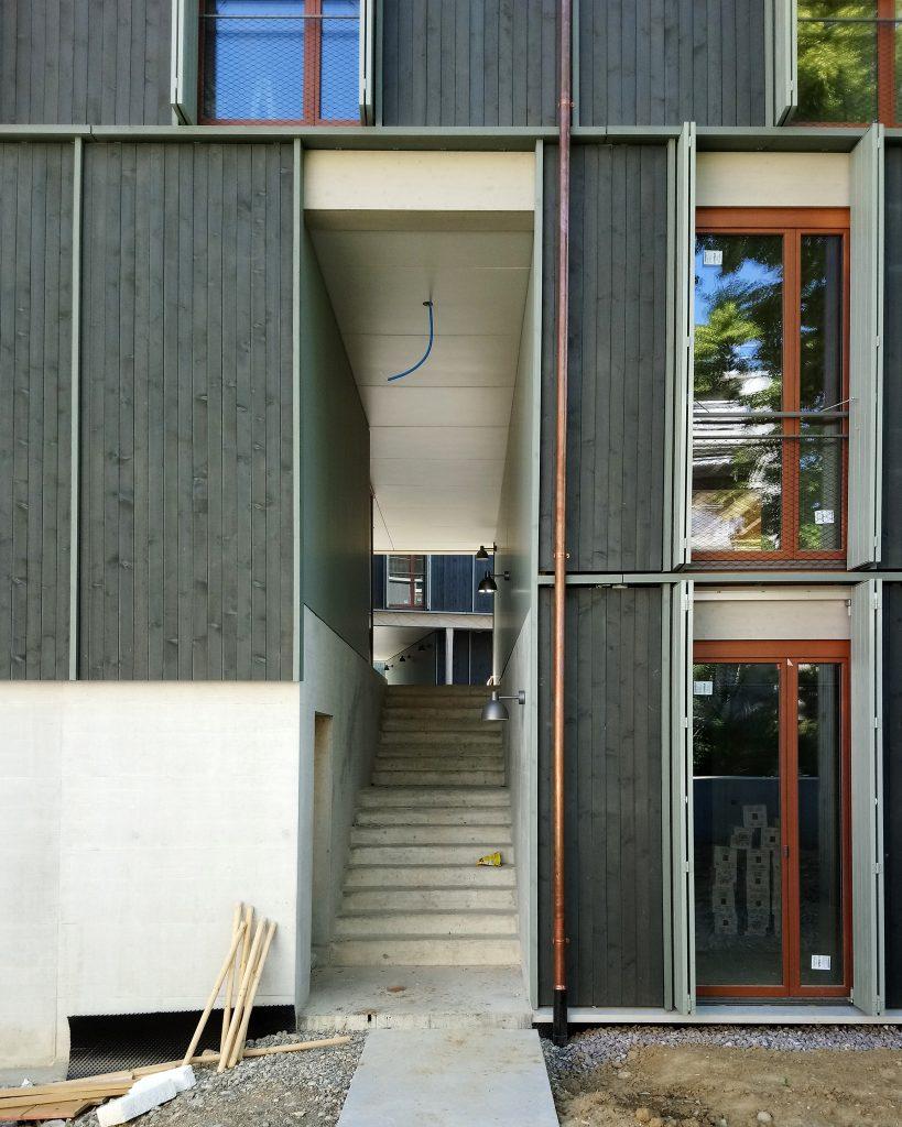 Wohnen an der Maiengasse von Esch Sintzel Architekten © Architektur Basel