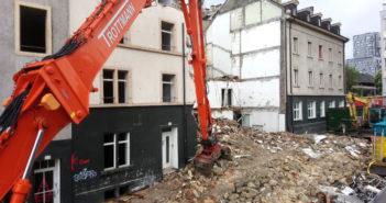 Abbruch Häuser Hochstrasse © Architektur Basel
