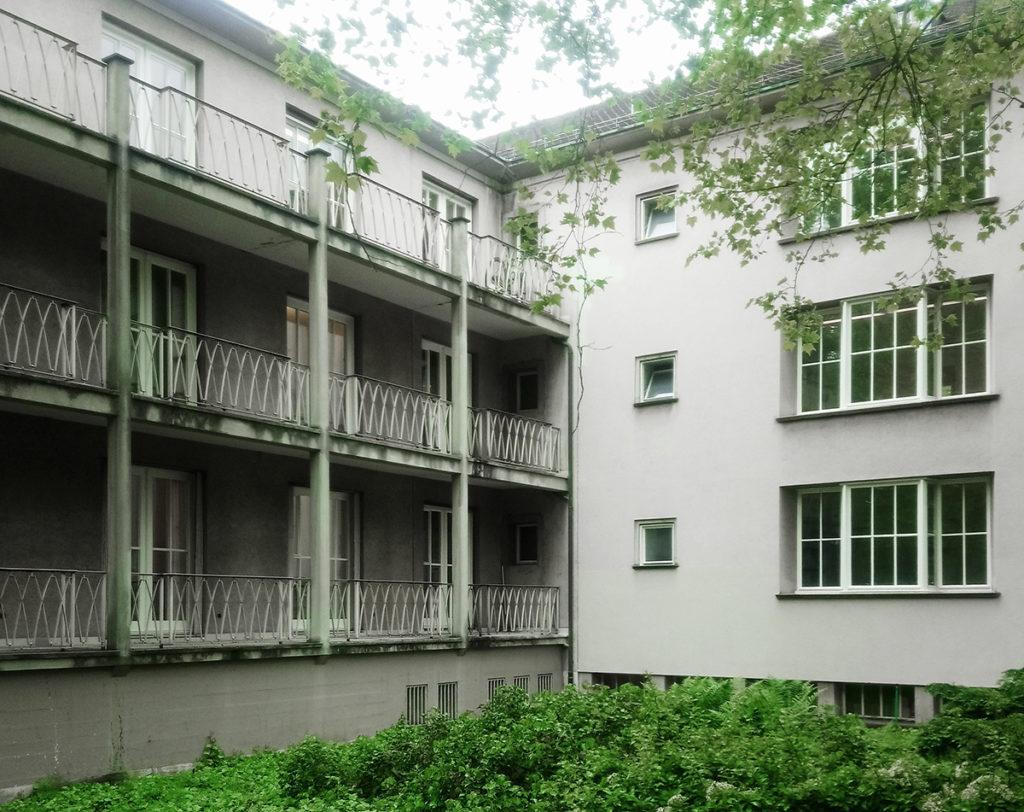 Schwesternhaus (1948-50) von Fritz Beckmann © Architektur Basel