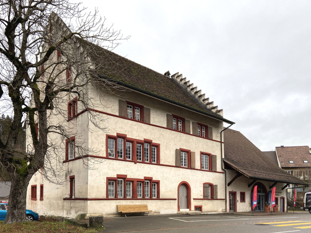 Dinghof, Bubendorf © Simon Heiniger / Architektur Basel