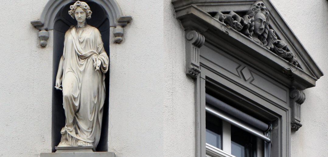 Steinmetzdetails Wohnhaus Häfelfinger und Restaurant Eckstein, Sissach © Architektur Basel