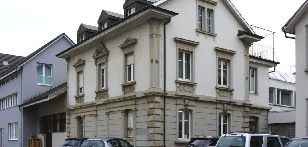 Wohnhaus Häfelfinger, Bahnhofstrasse 33, Sissach © Architektur Basel