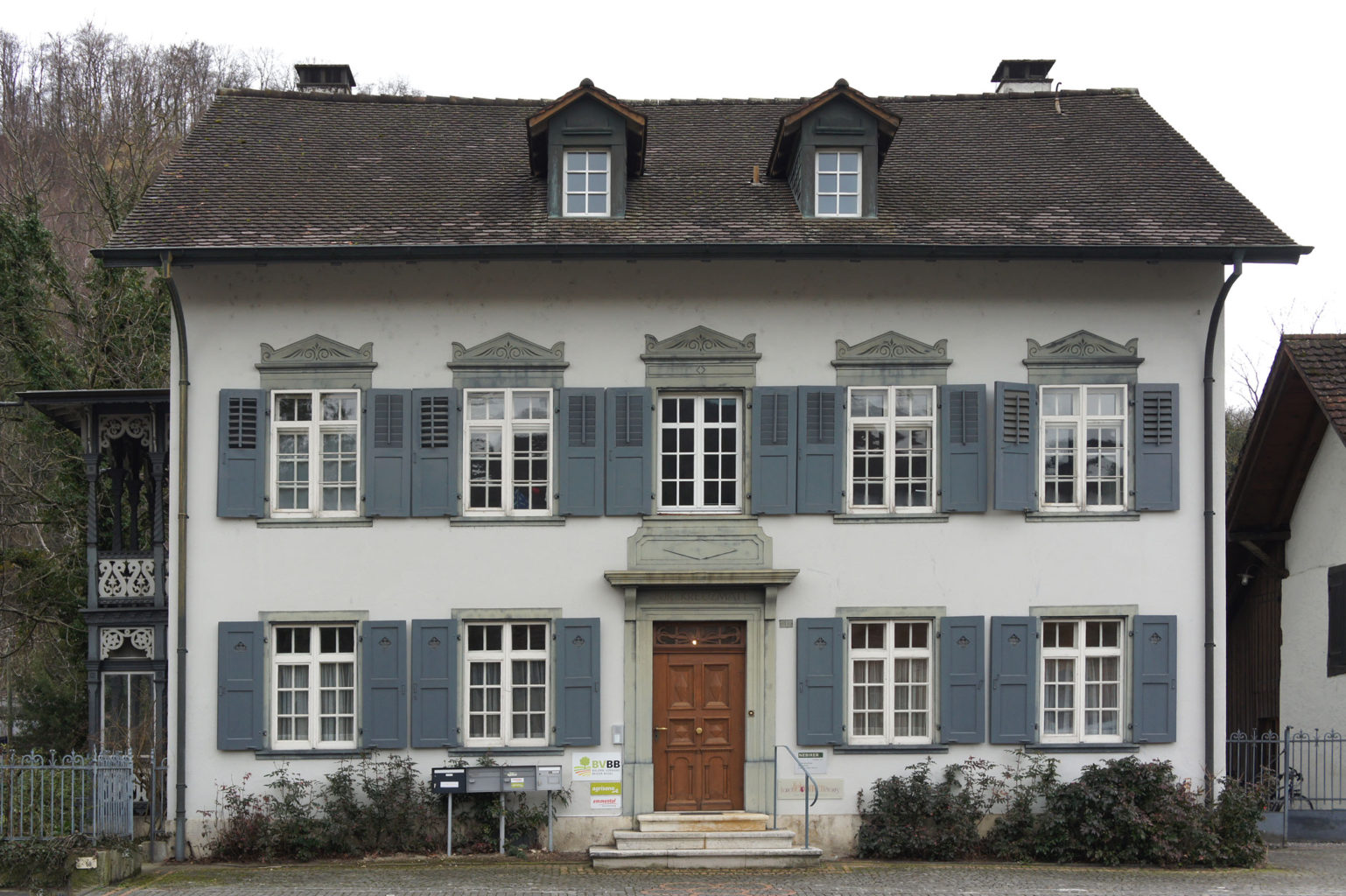 Ehemaliger Gasthof Kreuzmatt, Sissach © Architektur Basel