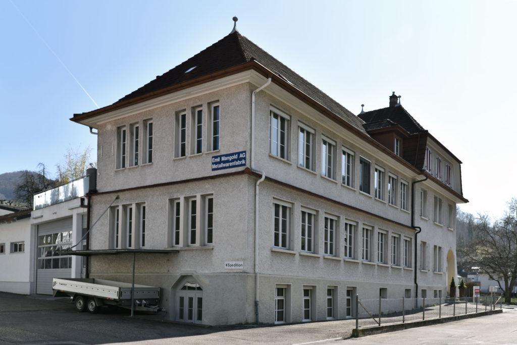 Industriegebäude Eimattweg 16, Oberdorf © Architektur Basel