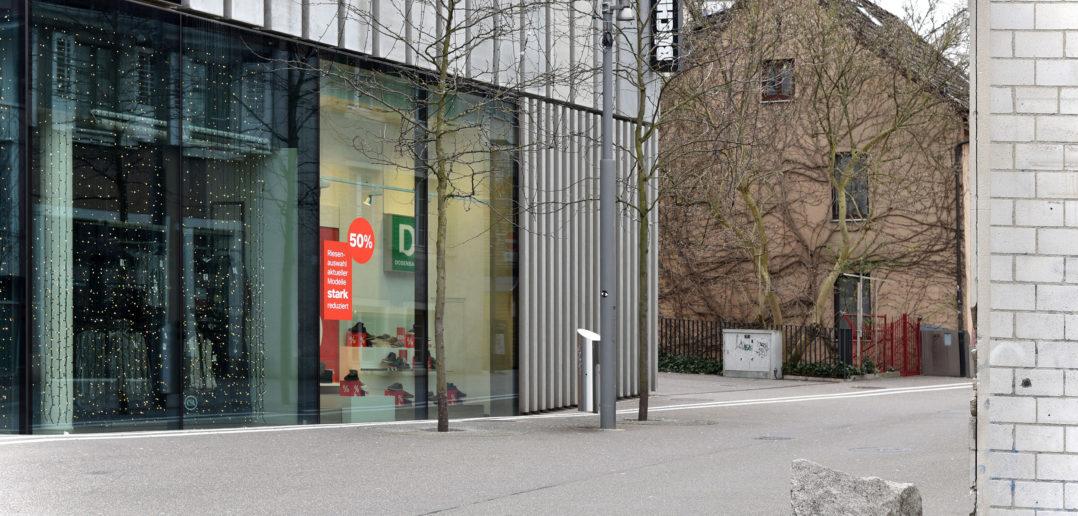 Neu neben Bestand, Bücheli-Center, Liestal © Architektur Basel