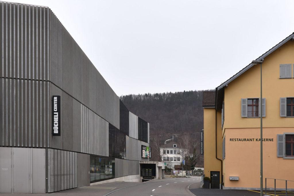 Neubau neben Kaserne, Bücheli-Center, Liestal © Architektur Basel