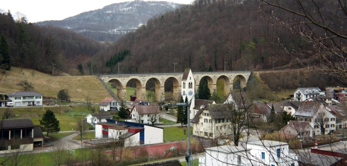 Eisenbahnviadukt, Rümlingen © Architektur Basel
