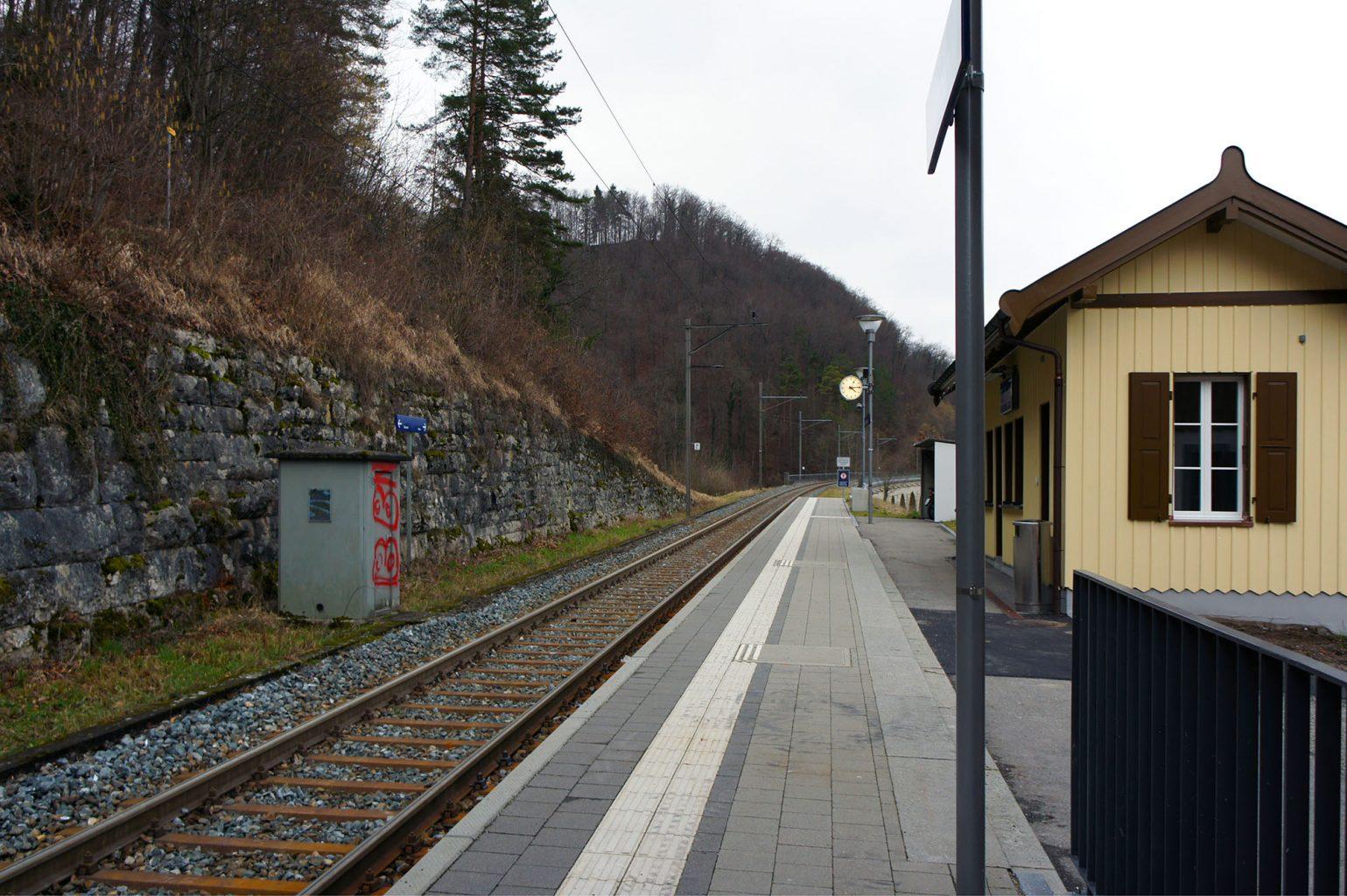Stationsgebäude, Rümlingen © Architektur Basel