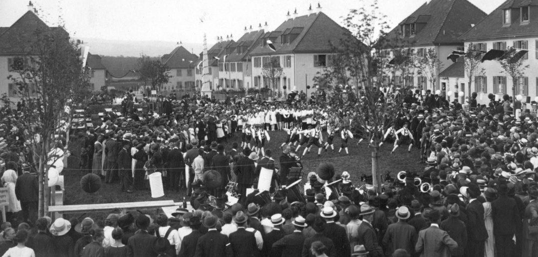 Eröffnungsfeier 1921 © Archiv Siedlungsgenossenschaft Freidorf