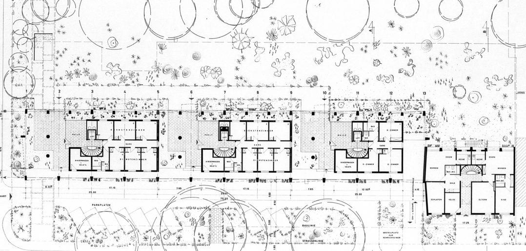 Erdgeschoss Wohnhaus Lindenstrasse von Burckhardt+Partner © Architektur Basel