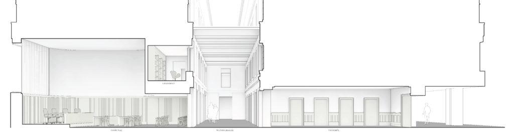 Altbau-Innenhof-Gerichtssaal / «FIDELIO» © ffbk Architekten AG, Münchenstein