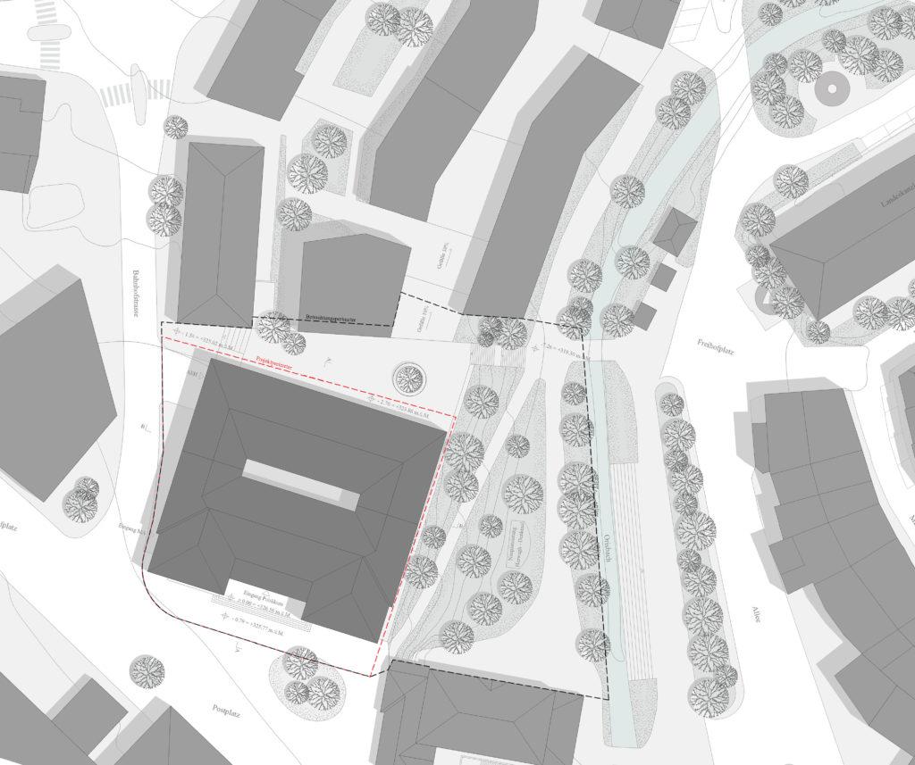 Situation / «FIDELIO» © ffbk Architekten AG, Münchenstein