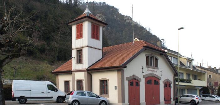 Feuerwehrmagazin, Waldenburg © Architektur Basel