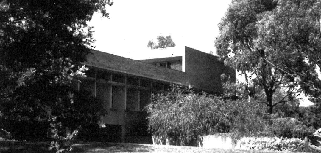 Schweizer Botschaft Canberra (1969 – 1975) von Hermann Baur