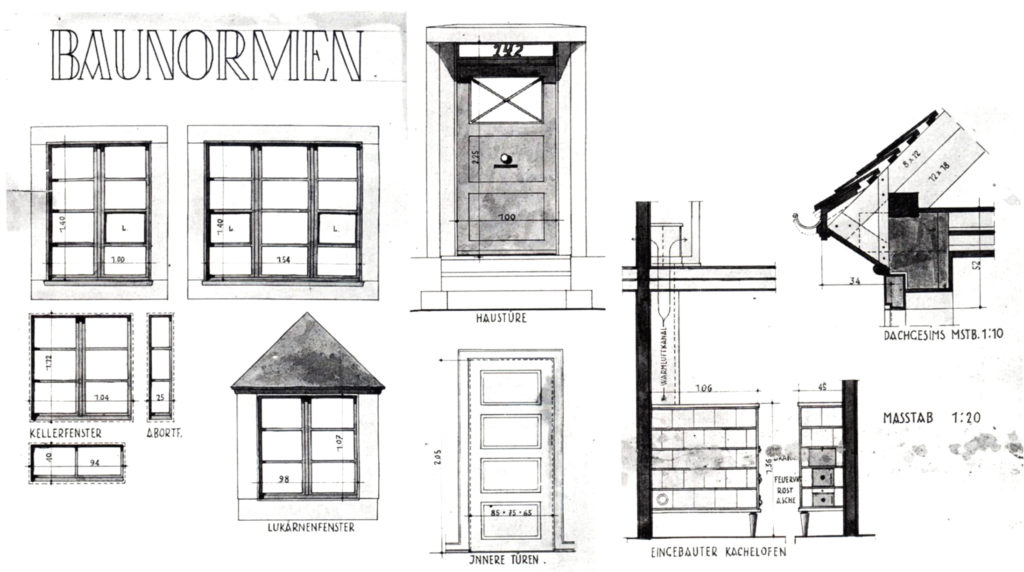 Freidorf Baunormen