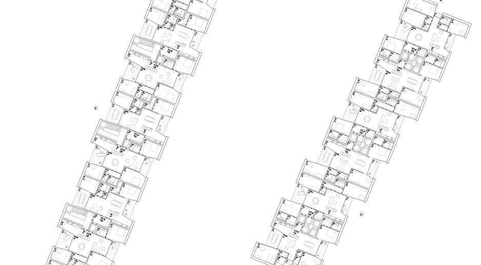 Grundriss Siegerprojekt: Morger Partner Architekten