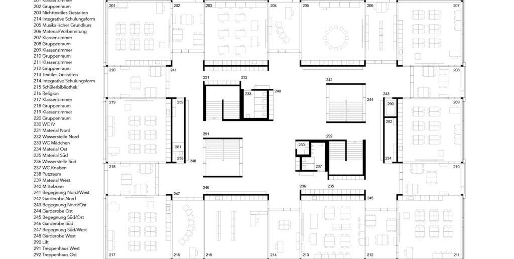 Grundriss 2. OG © Nord Architekten