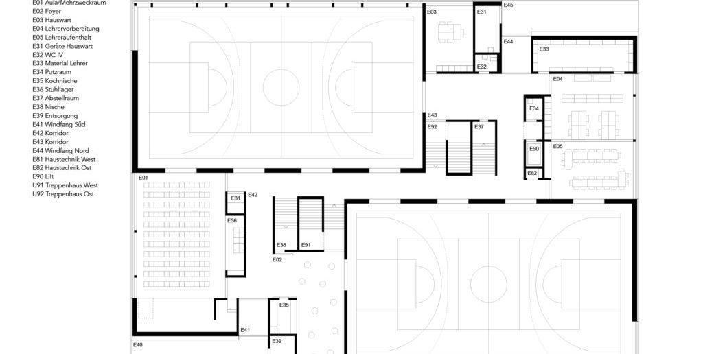 Grundriss EG © Nord Architekten