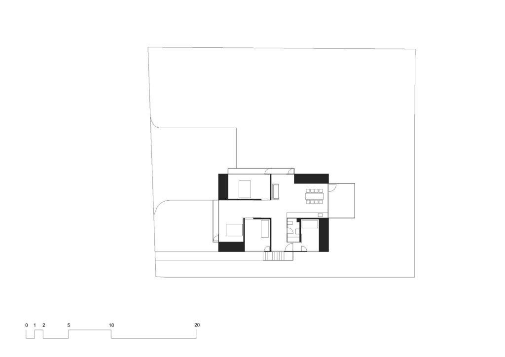Grundriss Aufstockung © Buchner Bründler Architekten AG