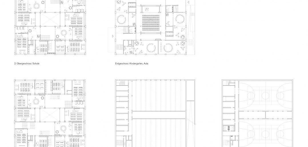 Grundrisse © Weyell Zipse Architekten & Hörner