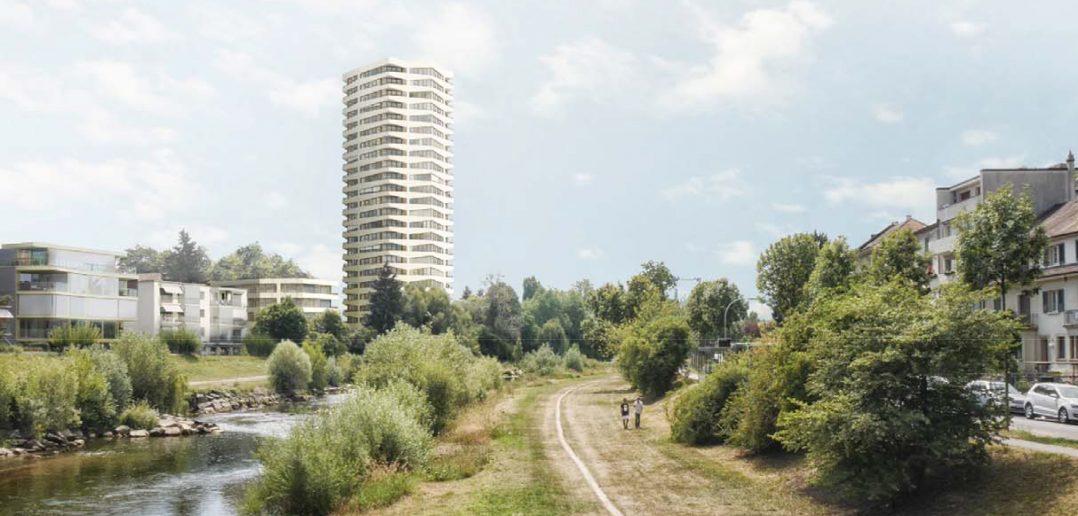 Hochhaus Birseckstrasse © Harry Gugger Studio