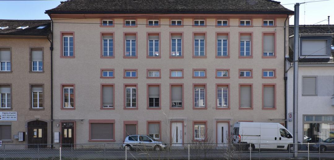 Industriegebäude Dorfgasse 10, Niederdorf © Architektur Basel