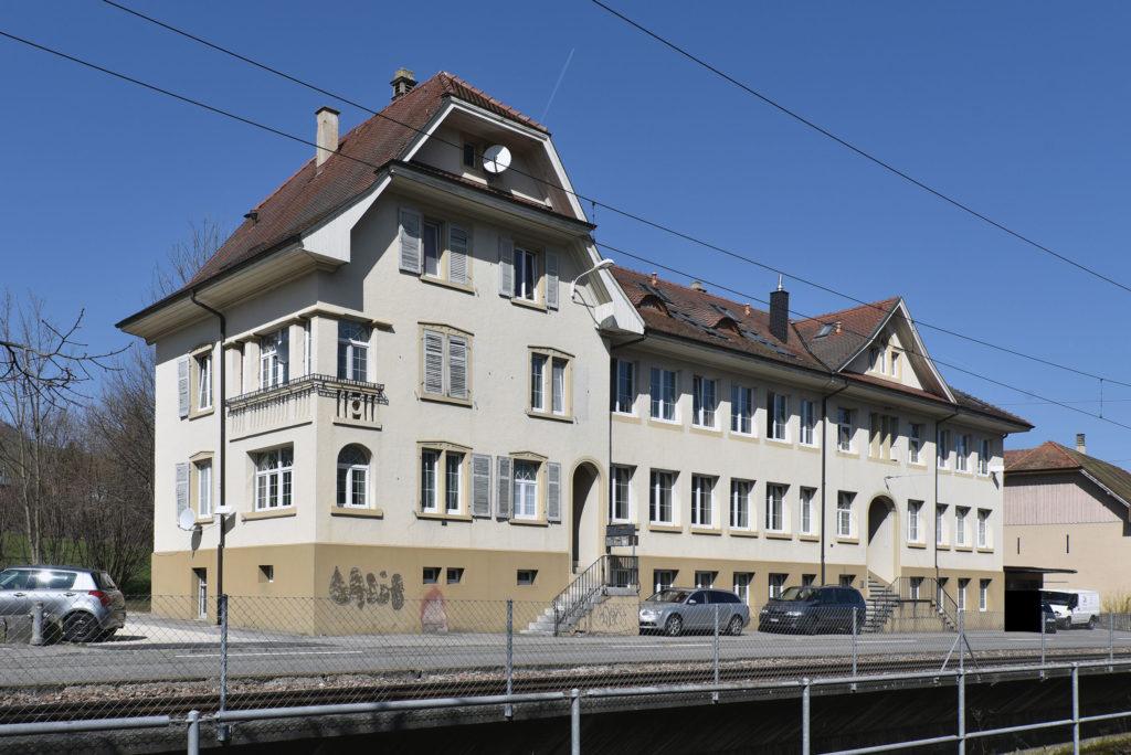 Industriegebäude Hauptstrasse 15-17, Niederdorf © Architektur Basel