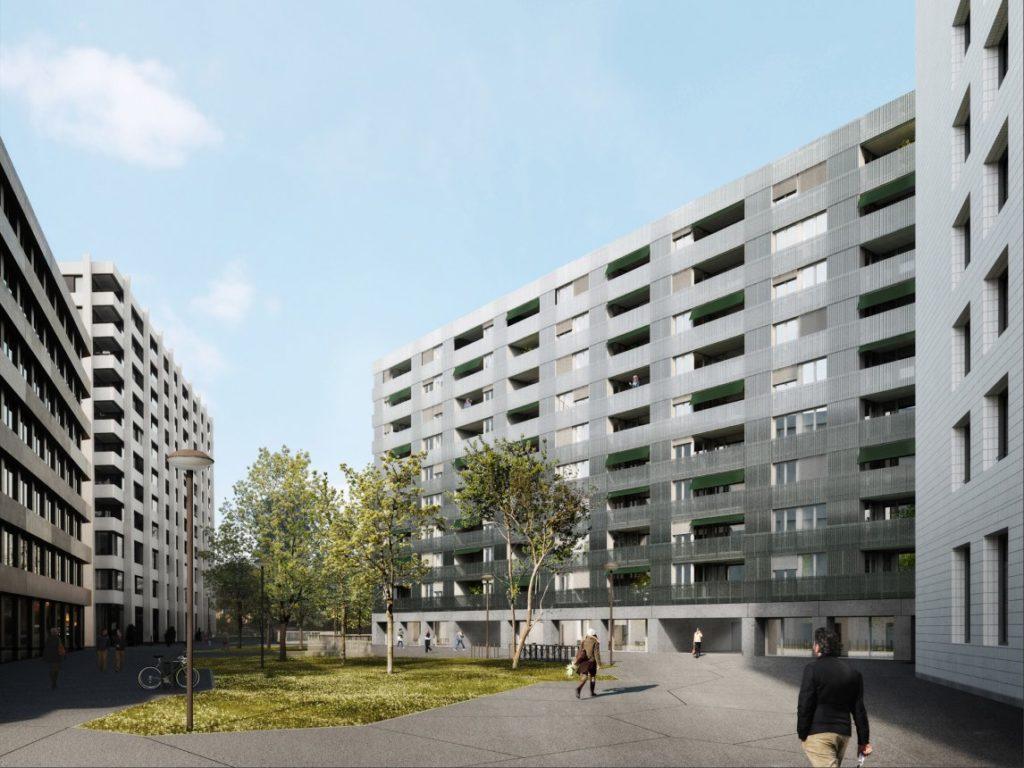 CityGate Baufeld A © Morger Partner