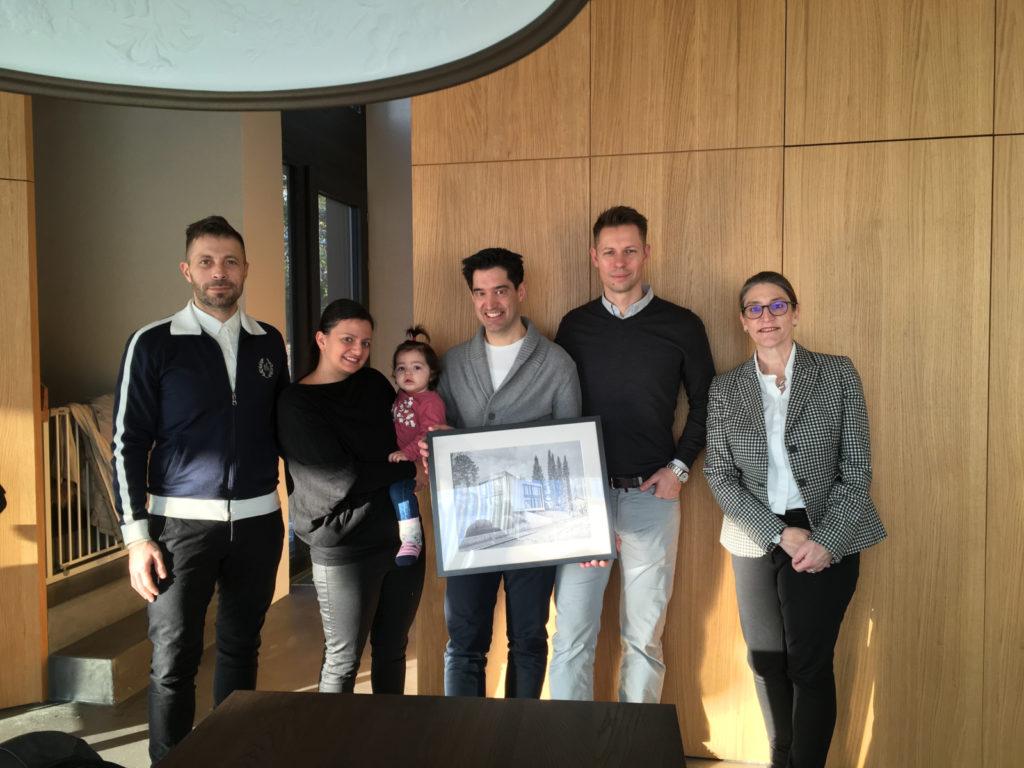 Haus T – Übergabe des Architekturpreises Binningen 2018 an die Preisträger, zVg