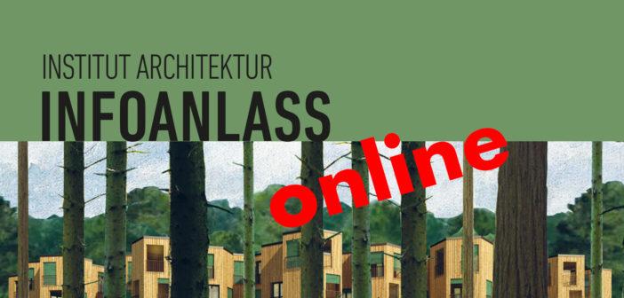 Infoanlass Bachelor und Masterstudium in Architektur an der FHNW, 03.11.2020, 17:30-18:15 Uhr, Online-Veranstaltung