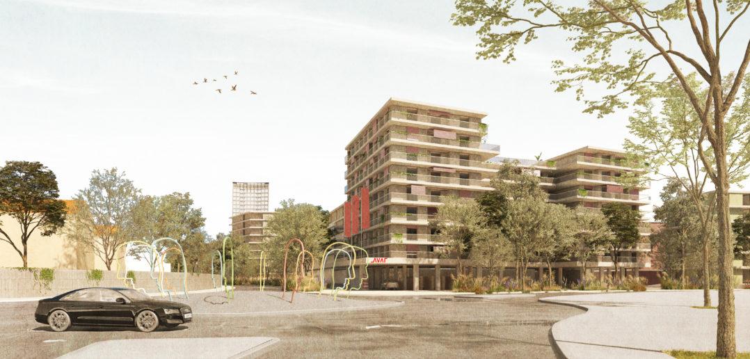 Hohenrainstrasse. Bredella AG (Visualisierung: Burckhardt+Partner AG)