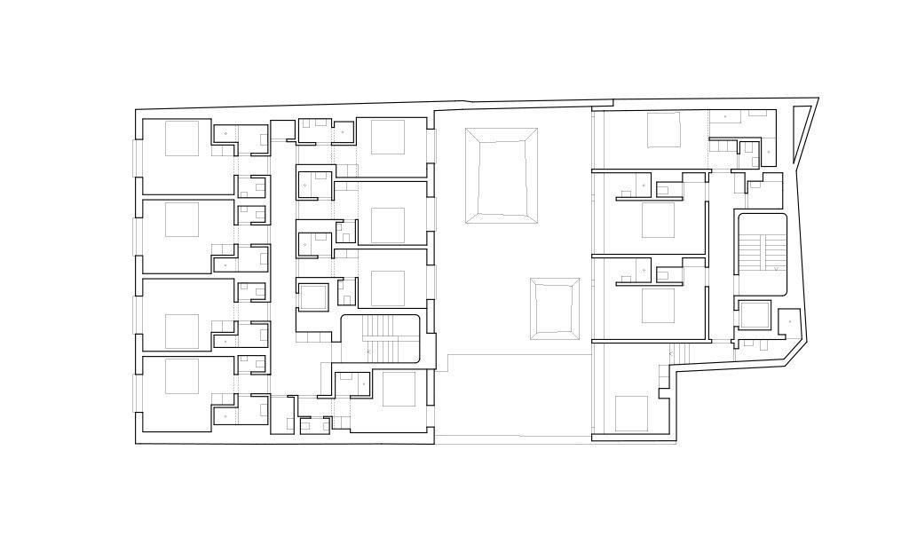 Hotel-Nomad_Buchner-Bründler_007 © Buchner Bründler Architekten AG