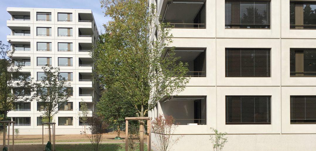 Magnolienpark von Stump & Schibli © Architektur Basel