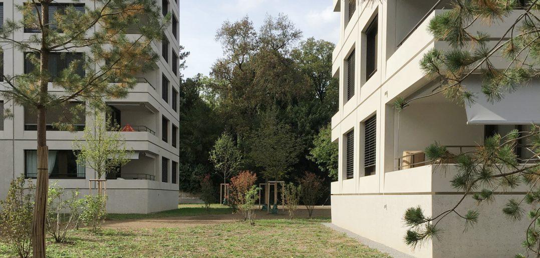 Mangolienpark von Stump & Schibli © Architektur Basel
