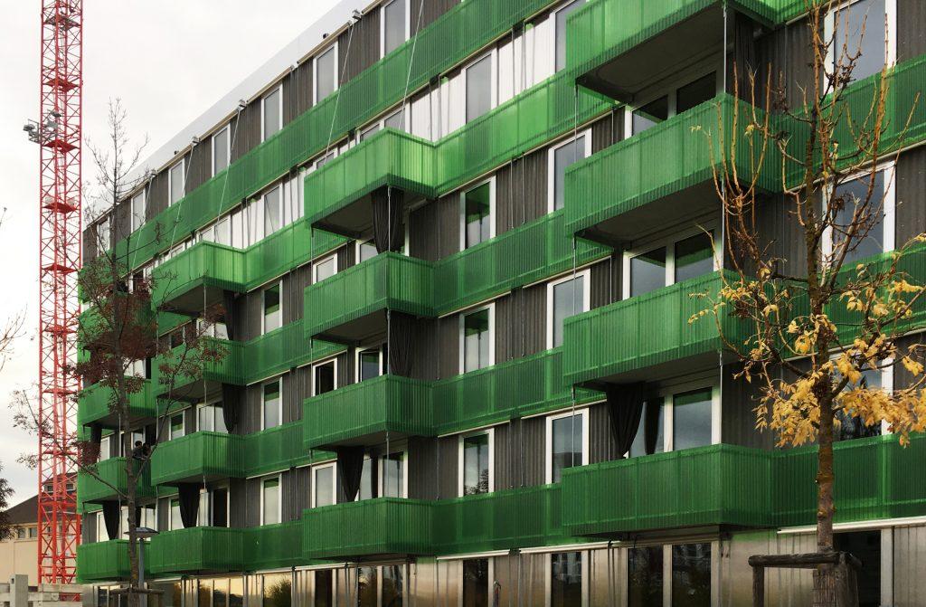 Gr n ist die hoffnung genossenschaftlicher wohnungsbau - Architekten basel ...