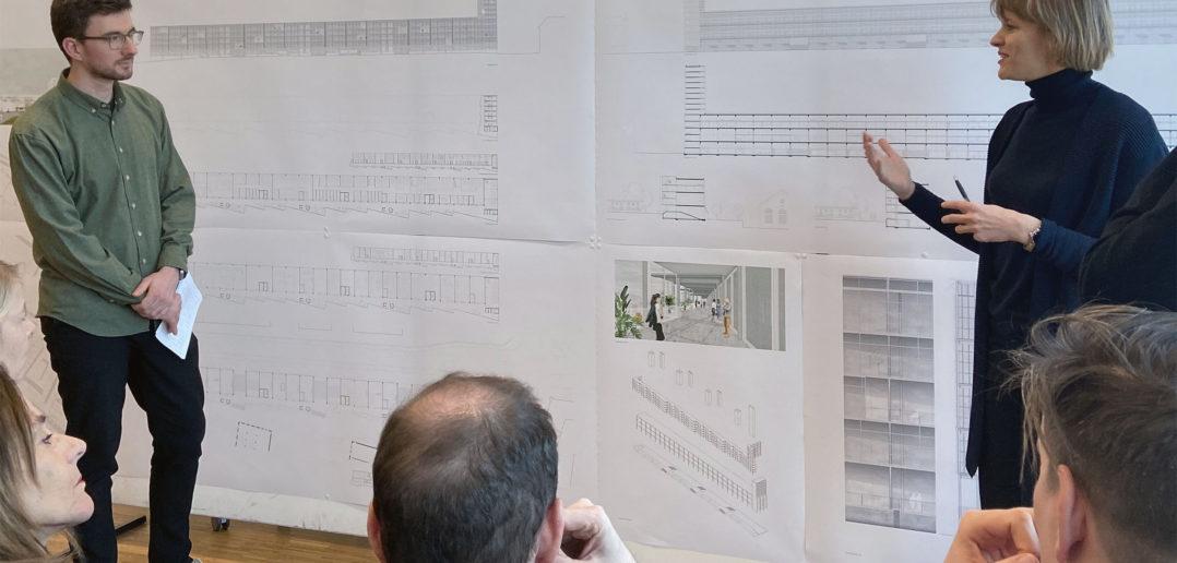 Die überhohen Geschosse bieten viel Flexibilität © Architektur Basel