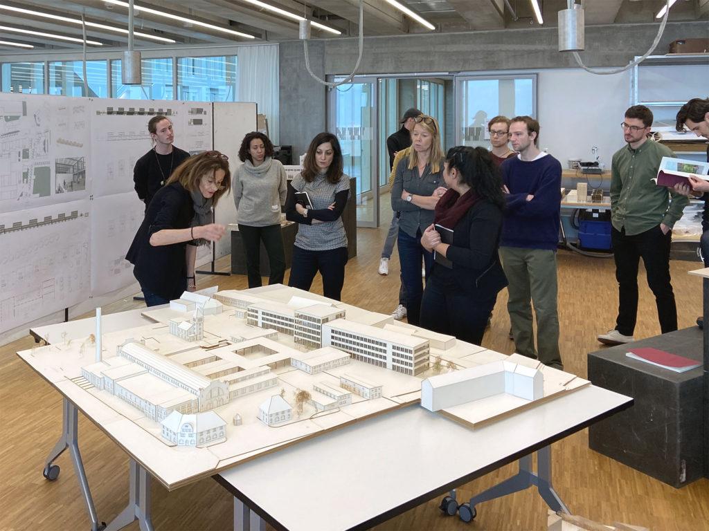 Am Modell lässt sich vieles prüfen © Architektur Basel