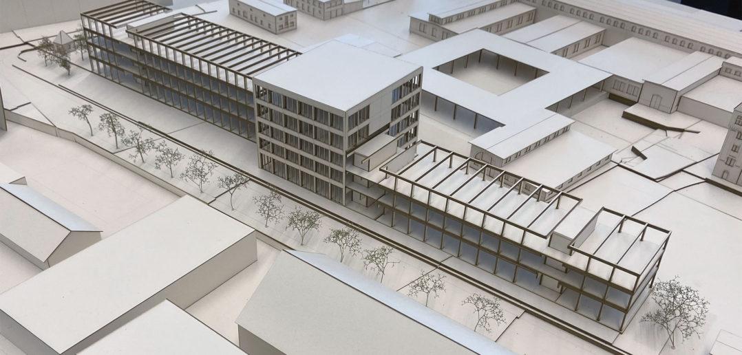 Ist die Fassade mal entfernt, kommt die Tragstruktur zum Vorschein © Architektur Basel