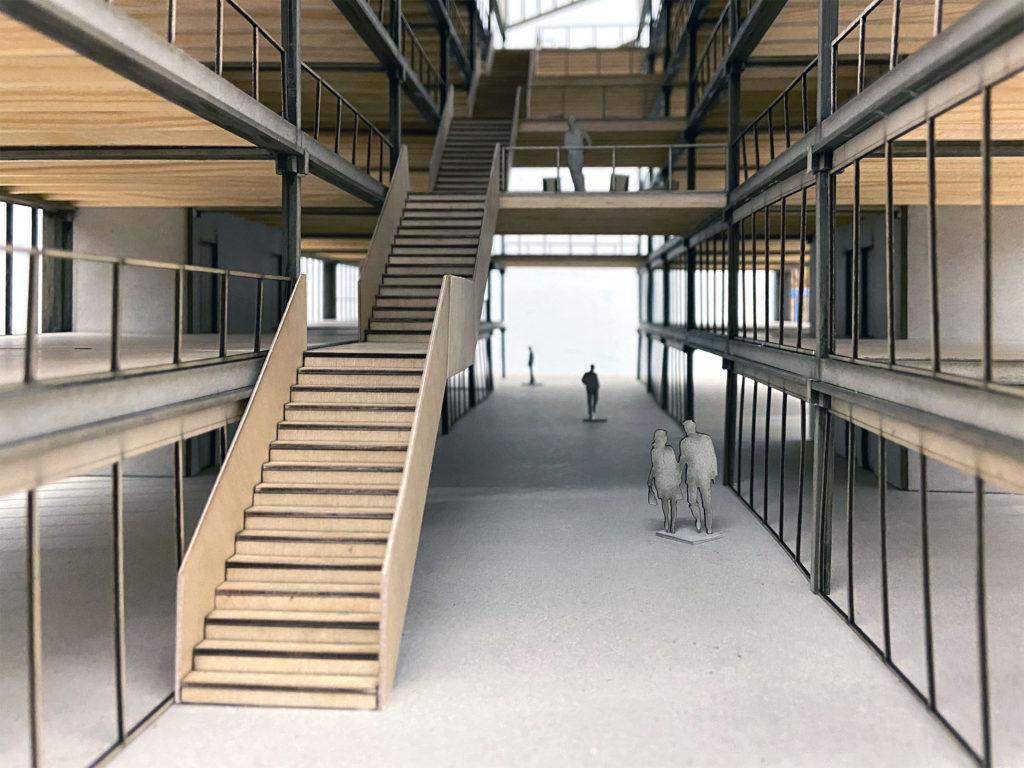 Das Modell überzeugt © Architektur Basel