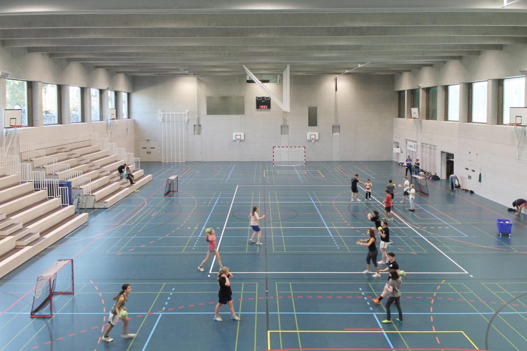 Schulhaus sandgruben st cheli architekten architekturbasel - Architektur basel ...