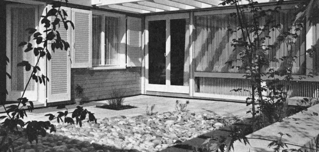 """Die Atriumsiedlung """"In den Gartenhöfen"""" in Reinach BL"""
