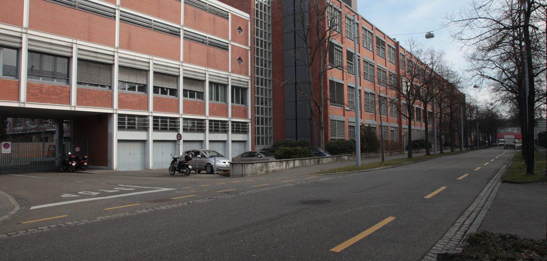 Ehemaliges Chemiegebäude Klybeck, Basel, ©2013 H.P. Bärtschi