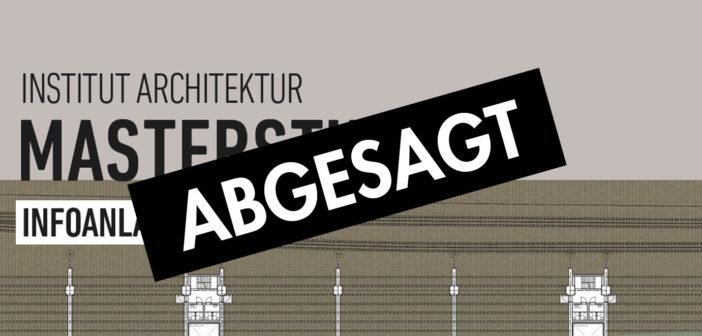 ABGESAGT: Info-Anlässe zum Masterstudium Architektur des Instituts Architektur der Fachhochschule Nordwestschweiz FHNW