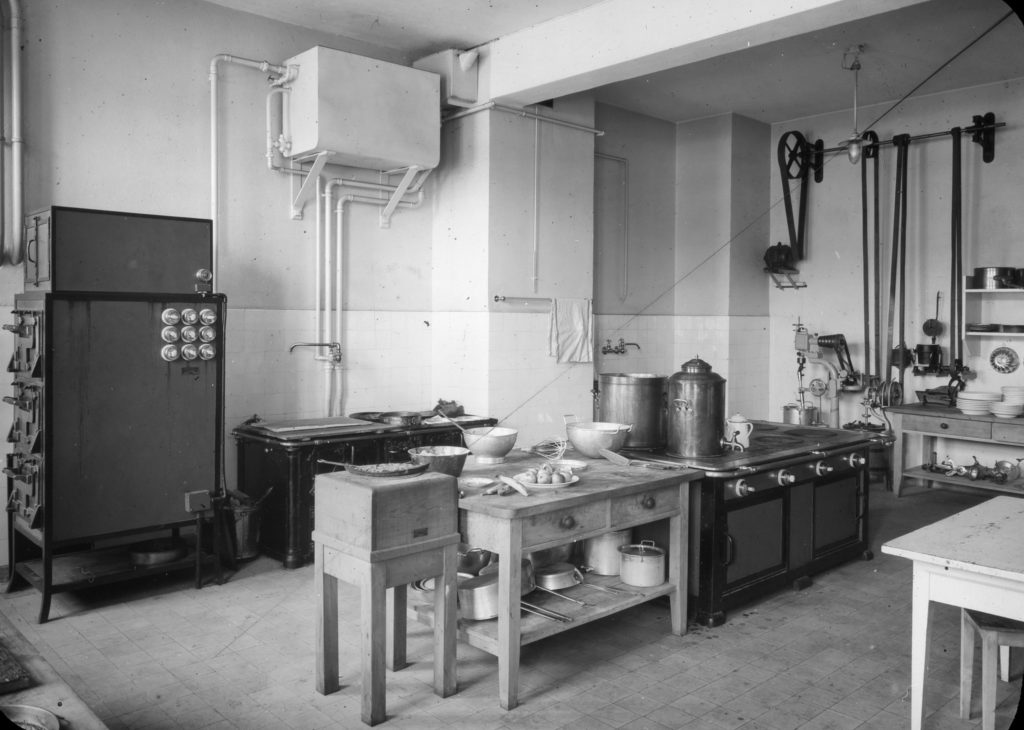 Küche im Genossenschaftshaus © Archiv Siedlungsgenossenschaft Freidorf