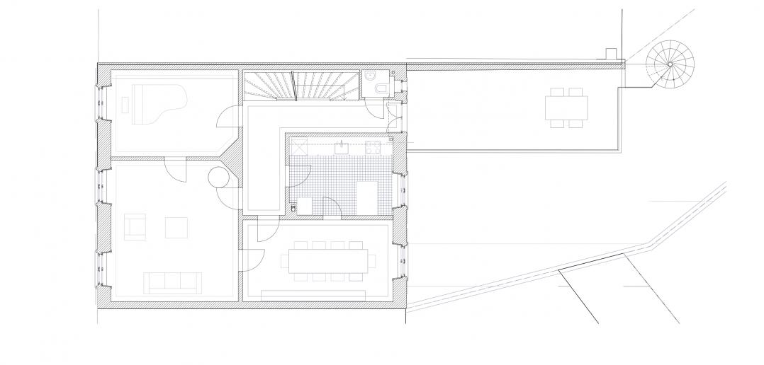 1.Obergeschoss © Forsberg Architekten AG