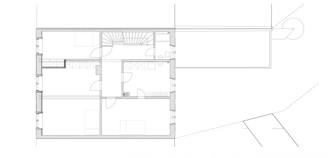 2.Obergeschoss © Forsberg Architekten AG